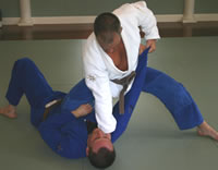 BJJ uses leverage to help you defeat a larger opponent